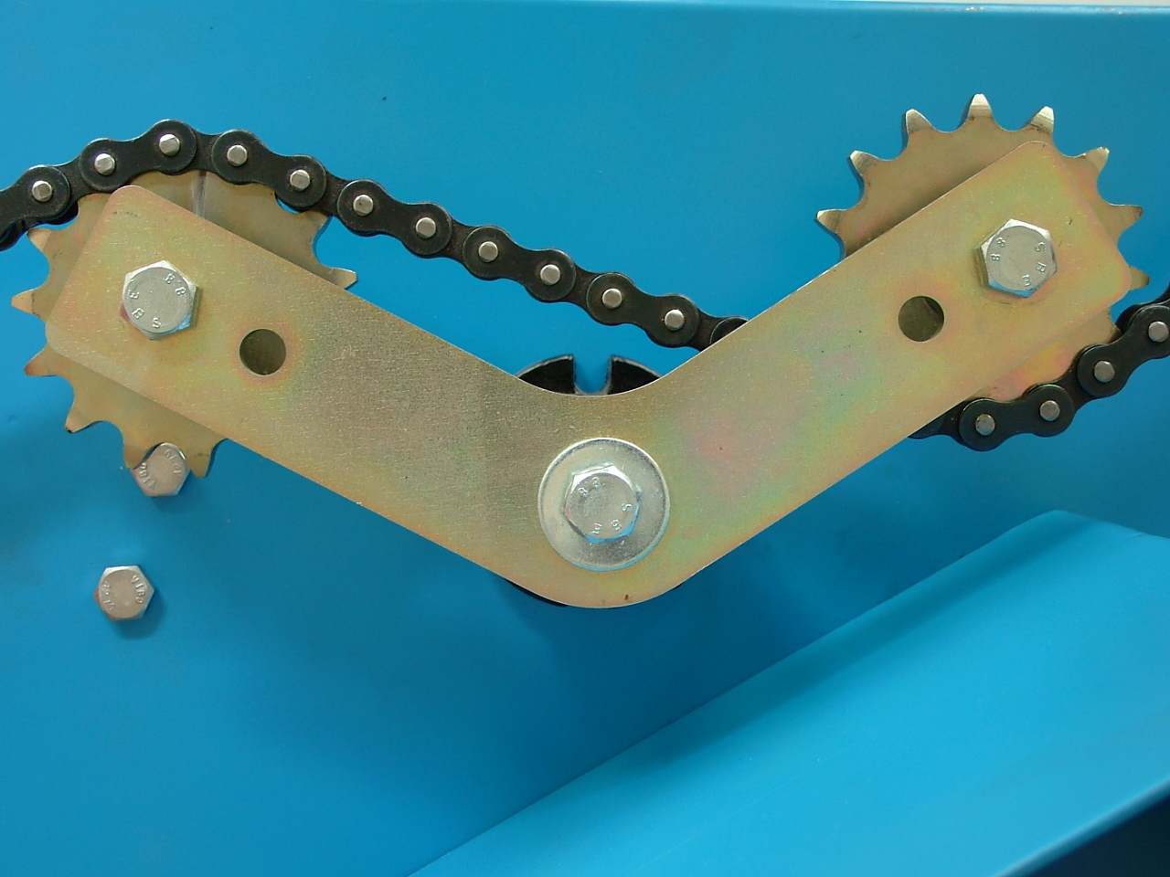 Industrial Chain Tensioner : Roller chain cresa tensioners vib rubber suspensions